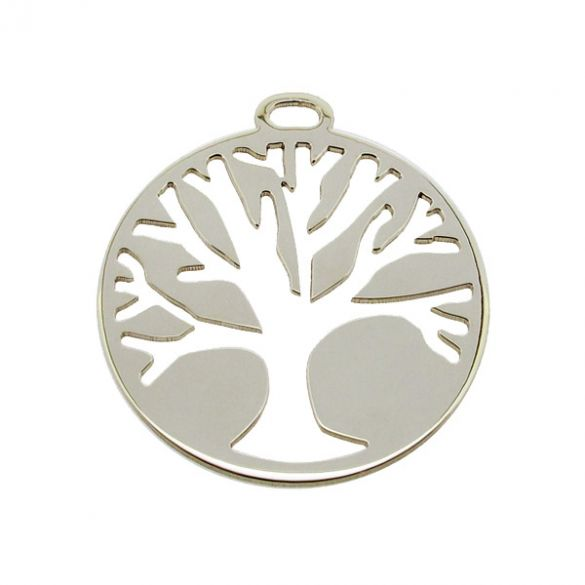 Sterling Silver Tree Of Coin