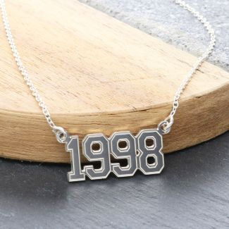 Year Plate Necklace