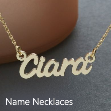 Personalised Name Necklaces