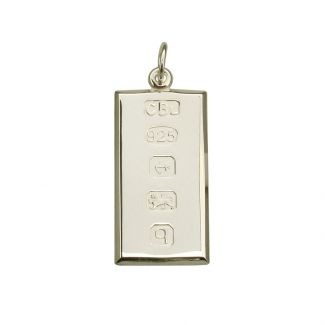 Sterling Silver Custom Hallmarked Ingot With Optional Engraving