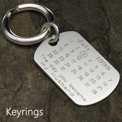Special Date Keyring