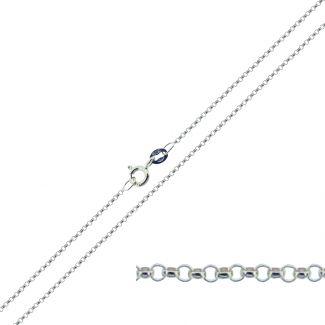 Sterling Silver 1.3mm Belcher Chain