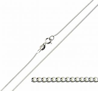 Sterling Silver 1mm Curb Chain
