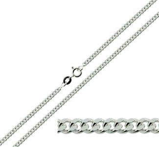 Sterling Silver 2.5mm Curb Anklet