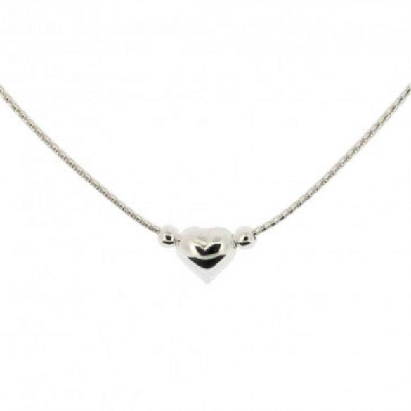 Sterling Silver Floating Heart Necklace & Bracelet & Anklet Set