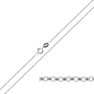 Sterling Silver 1.3mm Belcher Chain