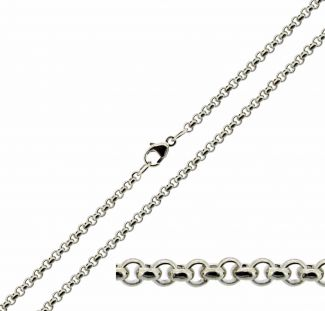 Sterling Silver 2.4mm Belcher Chain