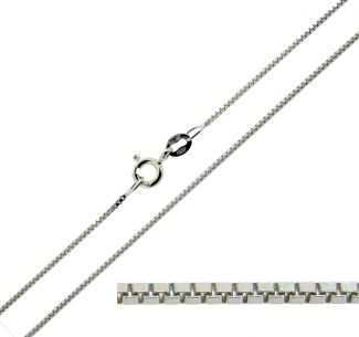 Sterling Silver 1.2mm Box Chain