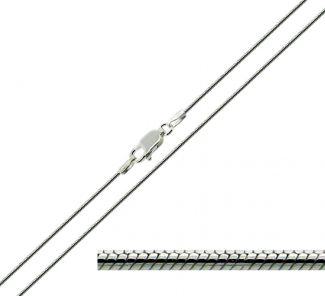 Sterling Silver 1.2mm Snake Chain