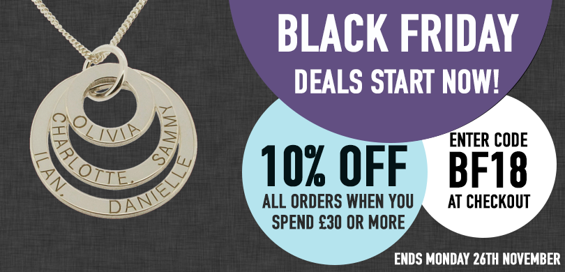 Black Friday 10% Off Our Full Range