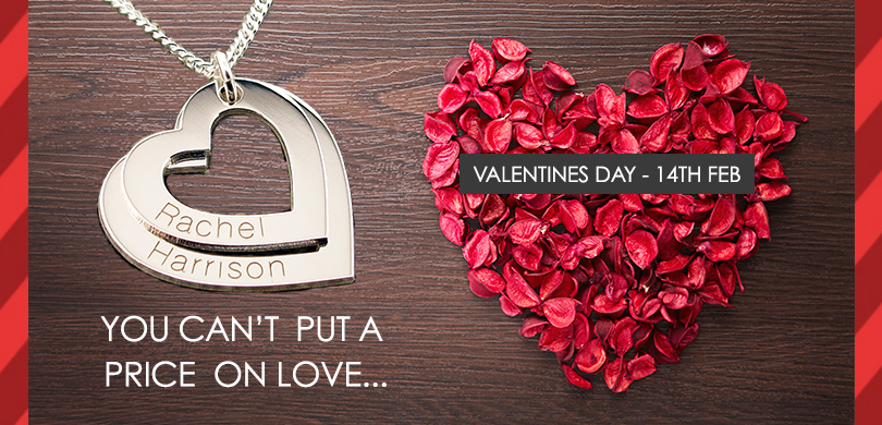 You can't put a price on love this Valentines Day - 14th February
