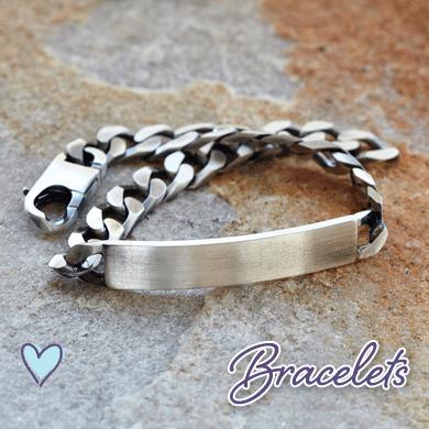 Personalised Engraveable Bracelets