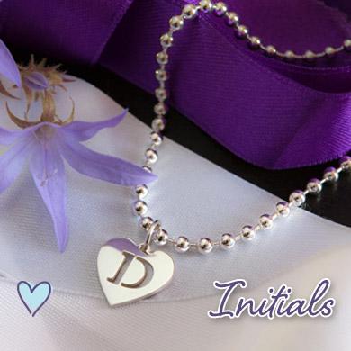 Personalised Initials Jewellery