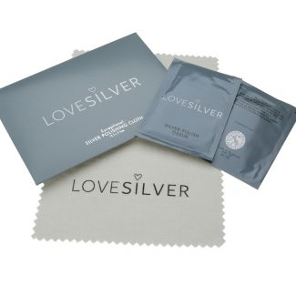 Polishing Kit For Sterling Silver - Including Polishing Cloth & Two Polishing Tissues