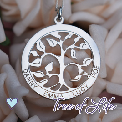 Filigree Tree of Life Pendant